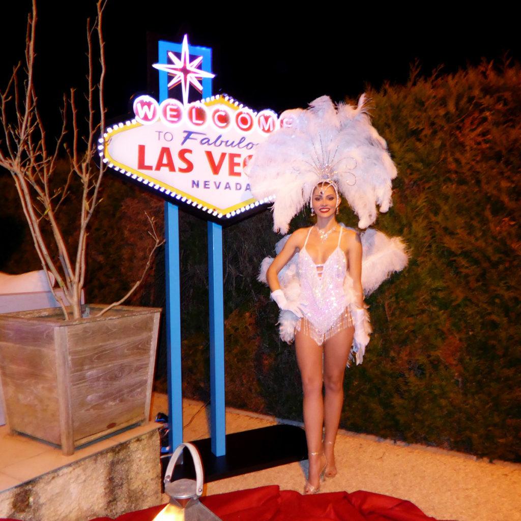 Hôtesse showgirl