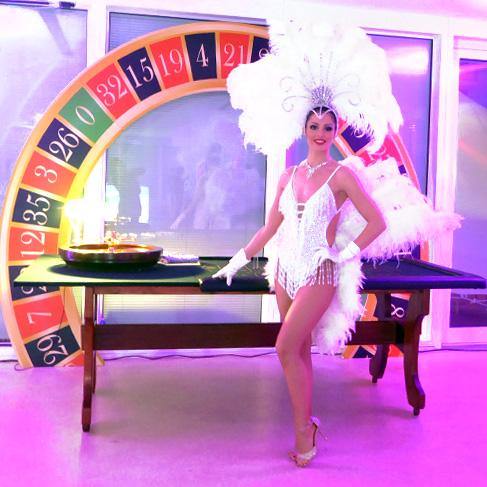 Hôtesse casino jeux