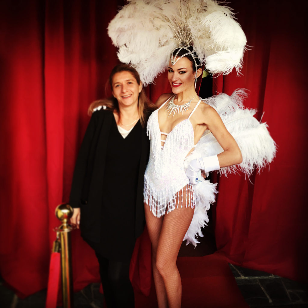 Pose photo Showgirl