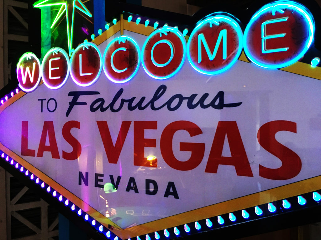 "Décors ""Welcome to Las Vegas"""