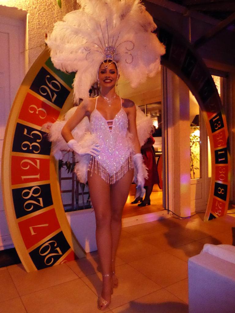 Accueil Showgirl soirée Las vegas