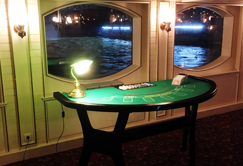 Casino animation soirée sur péniche