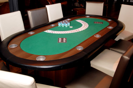 table de poker animation