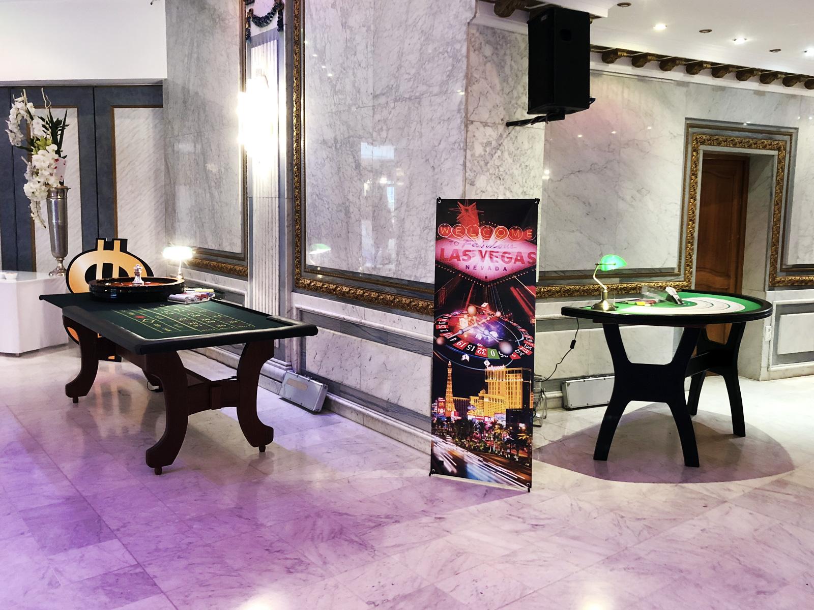 Soirée casino salons hoche ASP Class of 2018