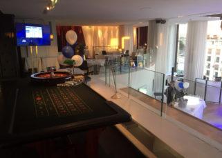 Soirée casino d'entreprise à la Maison Blanche Paris