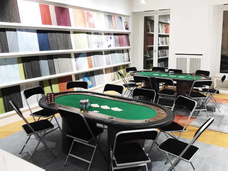 Soiree Poker société Milliken à Paris