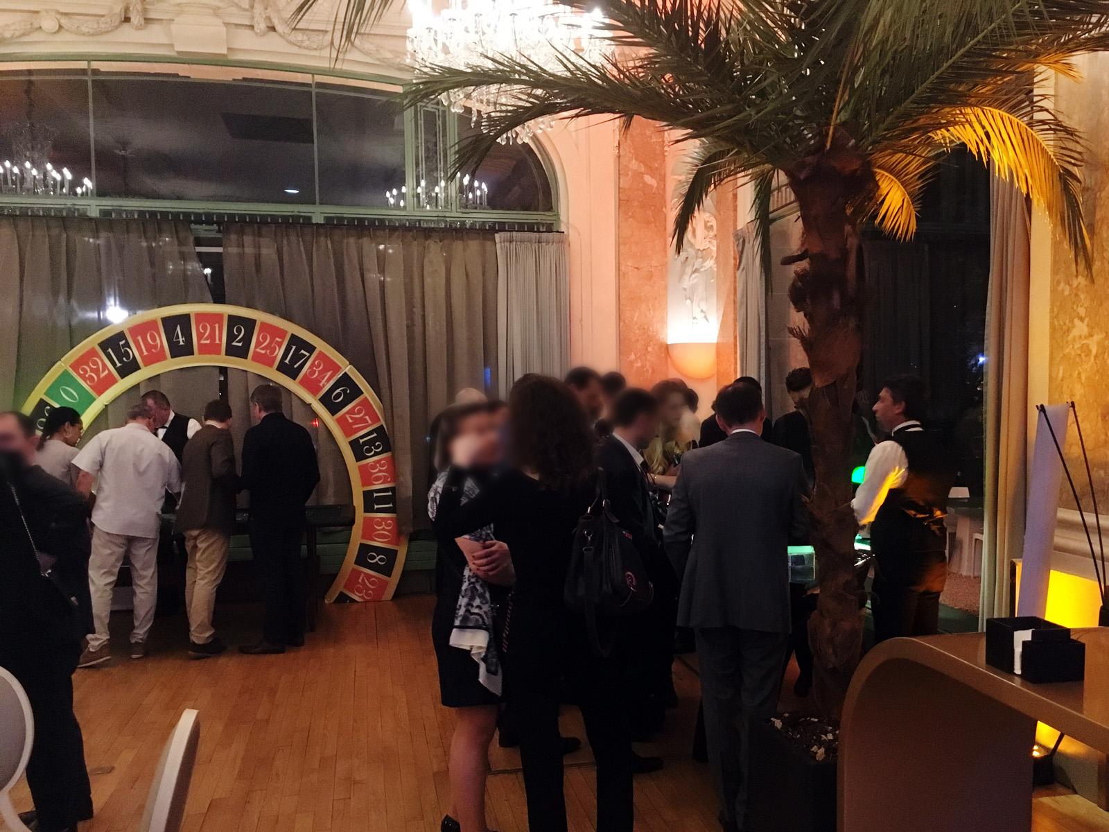 Soirée casino Roulette anniversaire