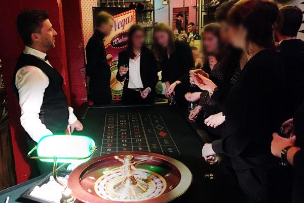 Soirée Casino animation fin d'années au Blabla Bar Paris