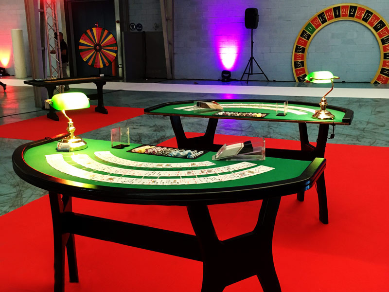 Animation casino inauguration locaux DistriCom