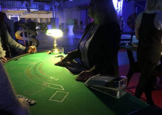 Animation casino inauguration locaux DistriCom ambiance casino