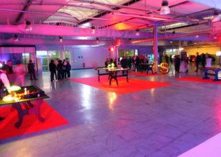 Animation casino inauguration locaux DistriCom soirée