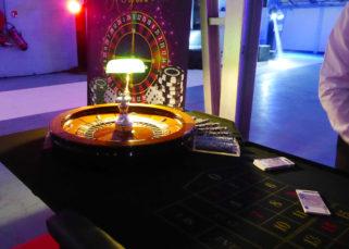 Animation casino inauguration locaux DistriCom roulette