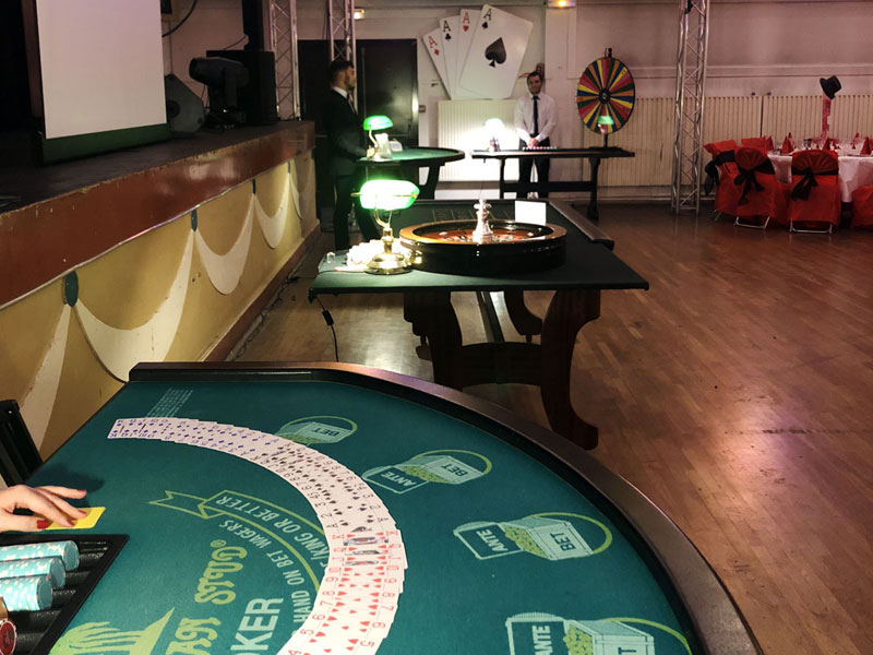 Location casino table jeu