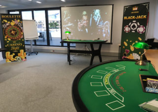 Animation tables casino INTM Levallois