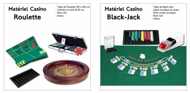 Location Kit jeux Casino 75, 78, 91, 92, 93, 94