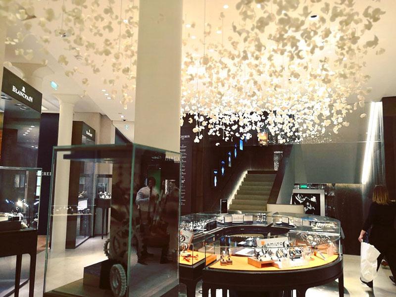 Soirée casino, animation chez Bucherer Paris Opéra