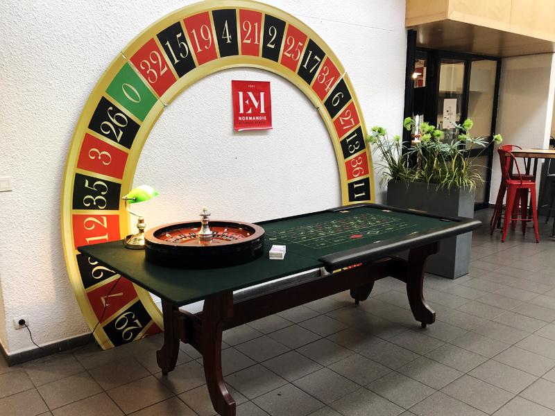 Soirée casino EM Normandie Le Havre