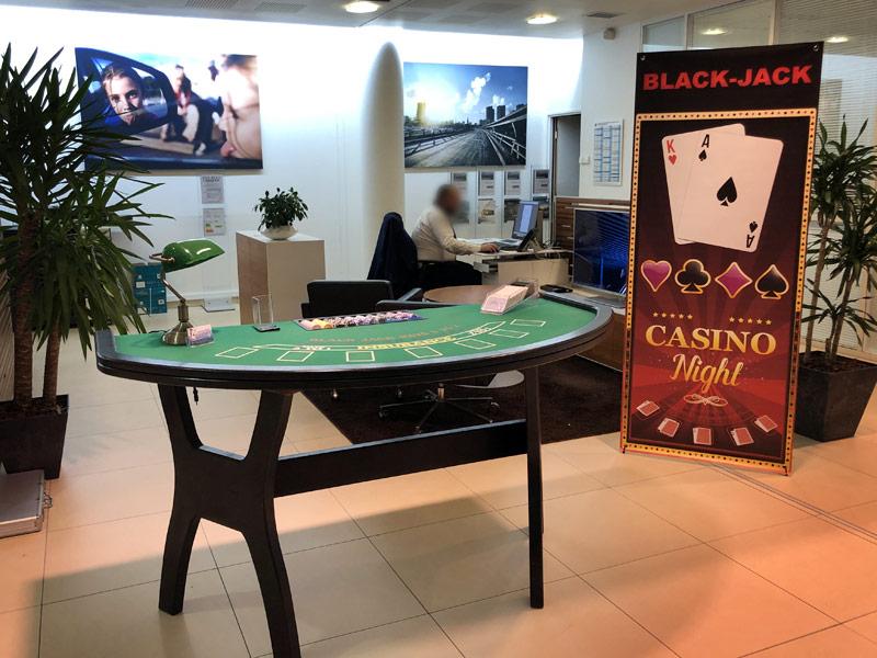 soirée casino BMW Velizy Janvier 2020