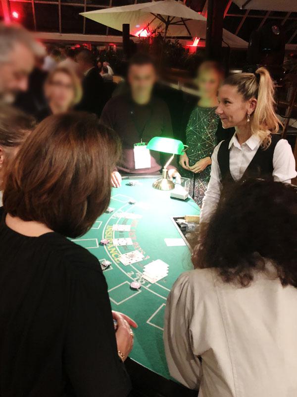 Casino pour soirée animation entreprise à Deauville