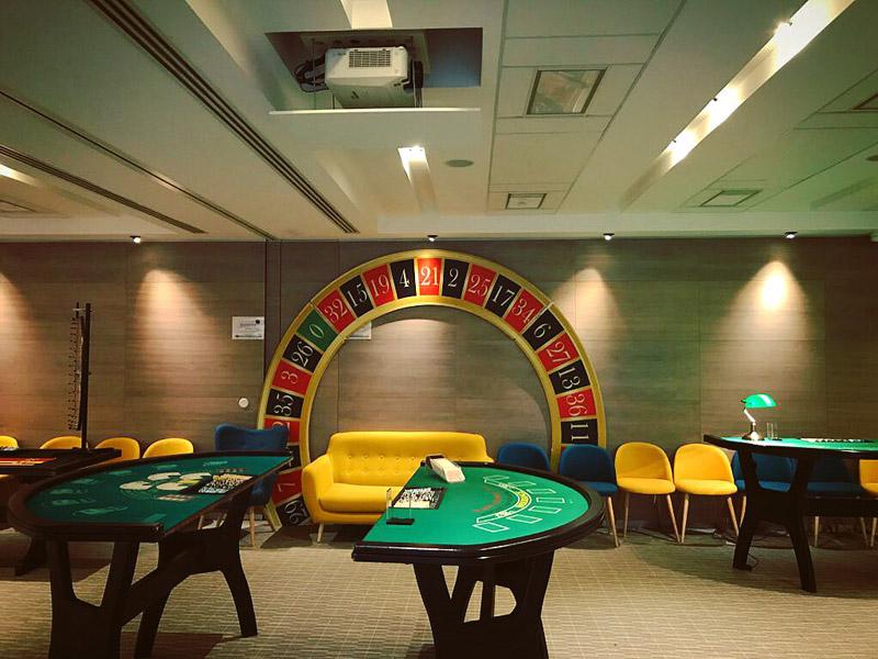 Casino soirée entreprise BNP Nanterre