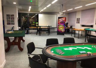 Animation soirée casino entreprise INTM