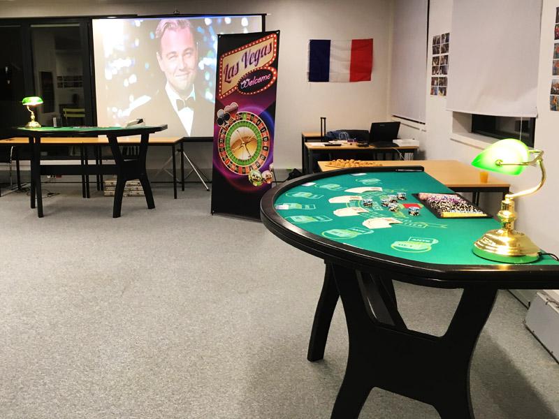 soiree casino entreprise INTM animation Levallois