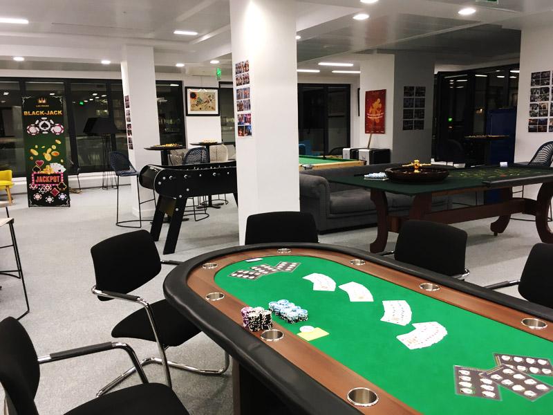 soiree casino entreprise INTM animation