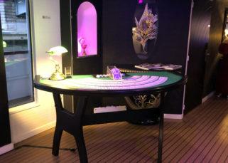 Soirée casino sur le Clipper Paris