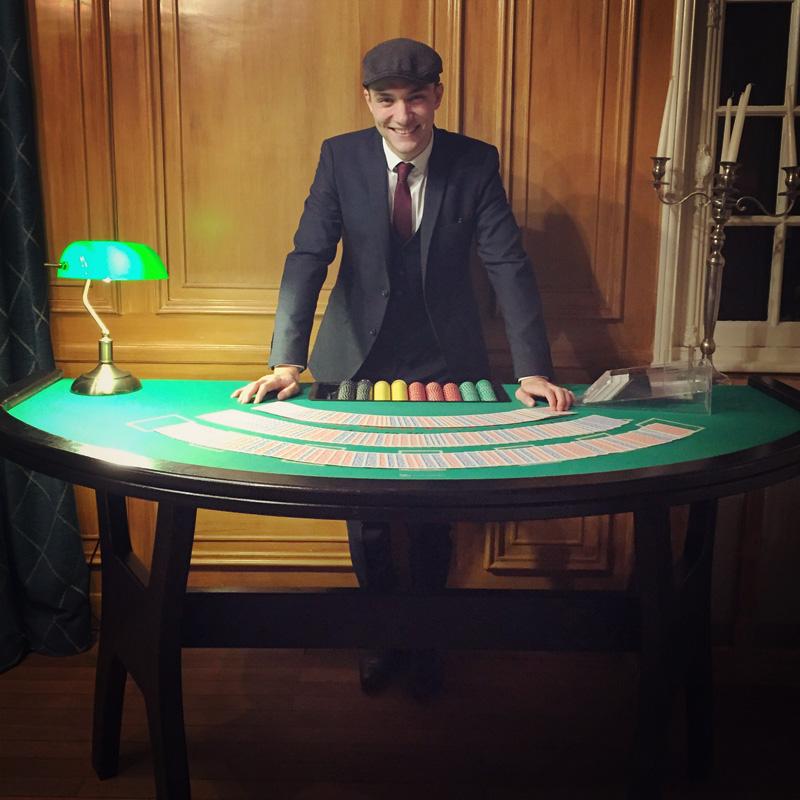 soirée thème Peaky Blinders animation casino